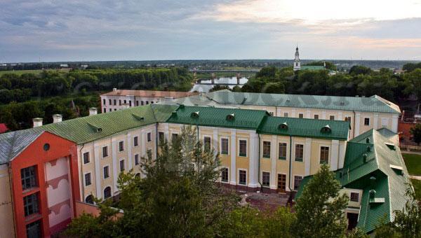 Полоцкий иезуитский коллегиум (вид сверху)